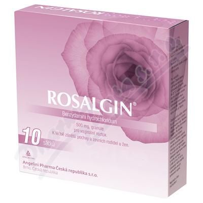 Rosalgin 500 mg vag.gra.sol. 10