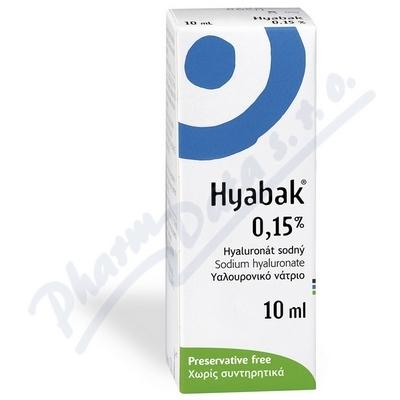 Thea Hyabak Protector 0,15 % 10 ml