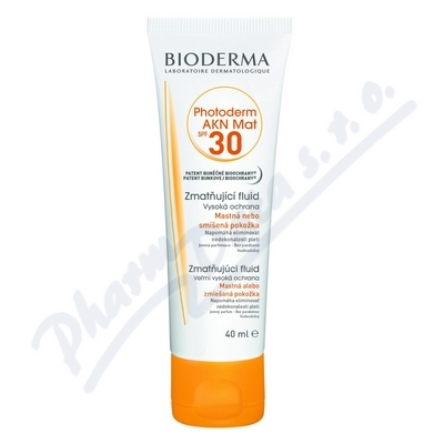 BIODERMA Photoderm AKN Mat SPF30 40ml