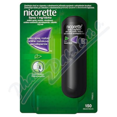 Nicorette spray 1mg/dáv.orm.spr.sol.1x13.2ml