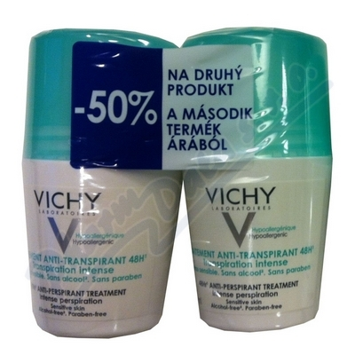 VICHY DEO roll-on DUO 48h Intense 2x50ml