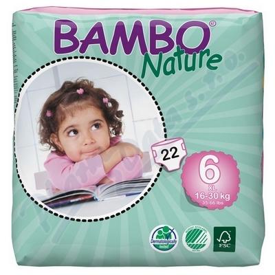 BAMBO Nature XL plen.k. 16-30kg 22ks