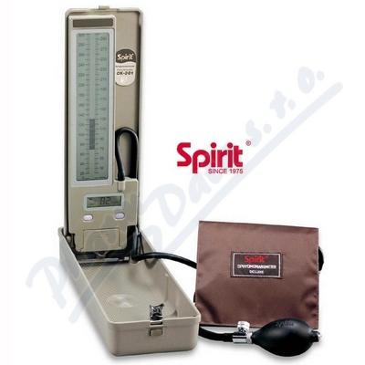 Tonometr bezrtuťový kvalit. ověřený Spirit CK-E301
