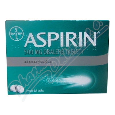 Aspirin 500mg por.tbl.obd.8x500mg