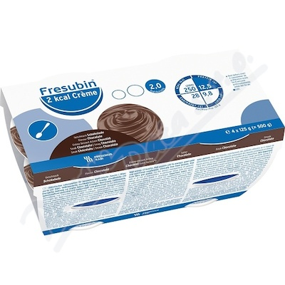 Fresubin 2kcal creme čokoláda por.sol.4x125g