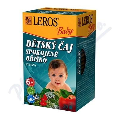 LEROS BABY Dětský čaj Spokojené bříško 20x2g
