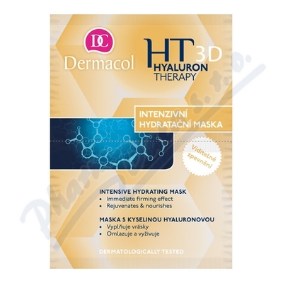 Dermacol Hyaluron Therapy 3D inten.hydr.maska 2x8g