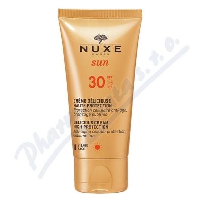 NUXE SUN Delikátní krém na tvář SPF30 50ml