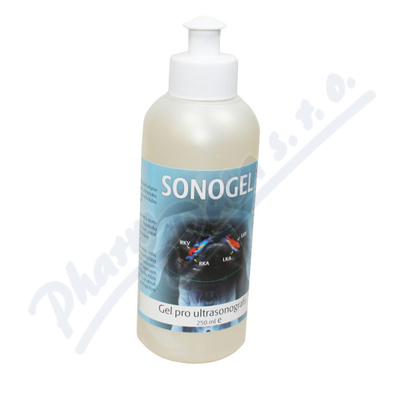 Sonogel na ultrazvuk 250 ml Steriwund
