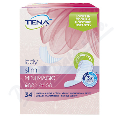 Ink.vlož.TENA Lady Mini Magic 34ks 761052