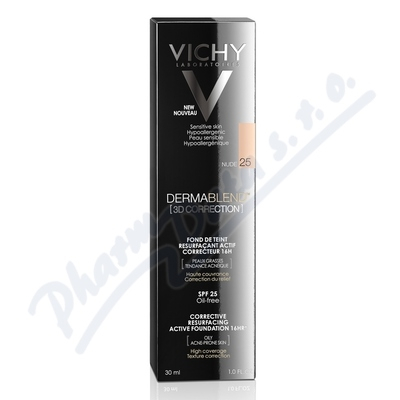 VICHY DERMABLEND 3D make-up č.25 30ml