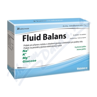 Fluid Balans sáčky 20x5.6g