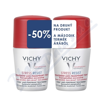 VICHY DEO roll-on DUO StressResist 2x50ml