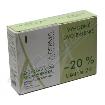 A-DERMA Dermatologické mýdlo-kostka 100g DUO