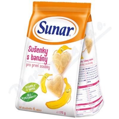 Sunárek dětské sušenky s banány 175g