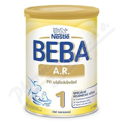 BEBA A.R.1 při ublinkávání 800g