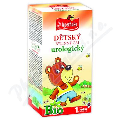 Apotheke Dětský čaj BIO urologický 20x1.5g