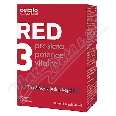 Cemio RED3 cps.60