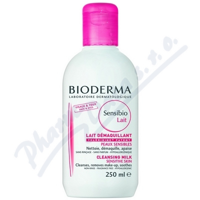 BIODERMA Sensibio Mléko 250 ml