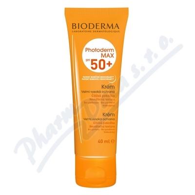 BIODERMA Photoderm MAX Krém neutrální SPF 50+ 40ml