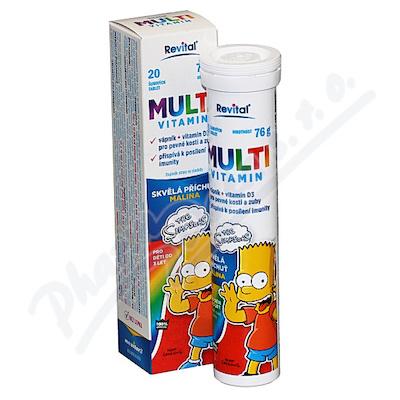 The Simpsons Multivitamin tbl.eff.20