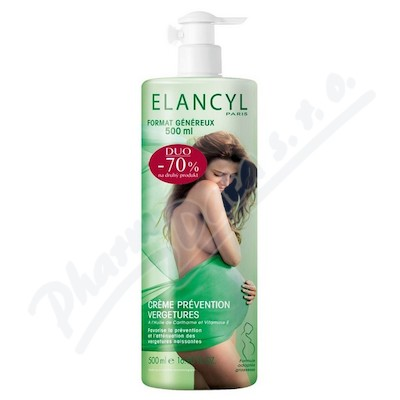 ELANCYL Krém-prevence strijí 500ml DUO