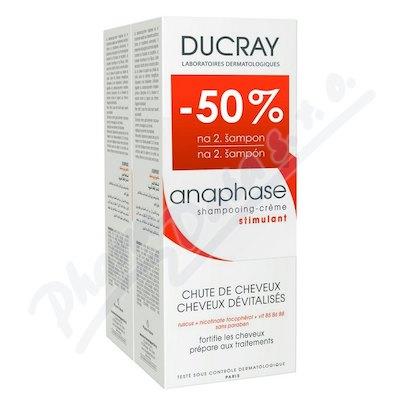 Ducray Anaphase+ šampon 2 x 200 ml dárková sada