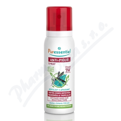 PURESSENTIEL Sprej proti bodavému hmyzu 75ml