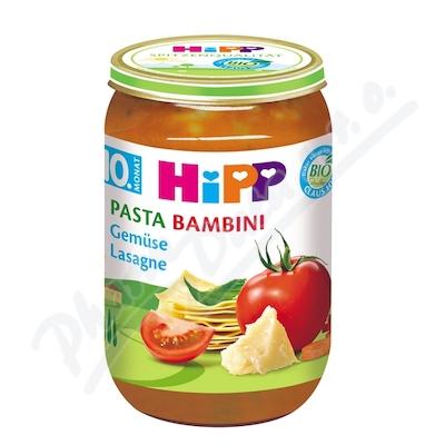 HiPP JUNIOR BIO PASTA BAMBINI Zelenin lasagne 220g
