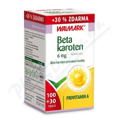 Walmark Beta karoten tob.100 + 30 zdarma
