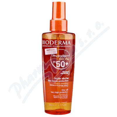 BIODERMA Photoderm BRONZ Olej SPF 50+ 200 ml