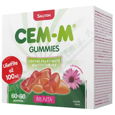 CEM-M gummies Imunita tbl.60+60 Dárk. 2019