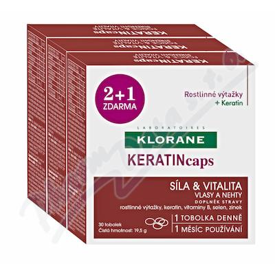 KLORANE Keratincaps Vlasy a nehty cps.90