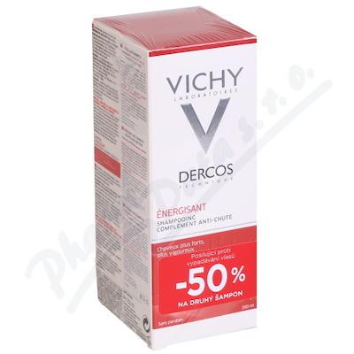 VICHY Dercos šampon posilující DUO 2x200ml 2018