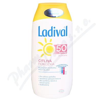 Ladival opalovací mléko pro citlivou pokožku SPF50 200 ml