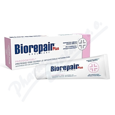 BioRepair Plus Parodontgel zubní pasta 75ml
