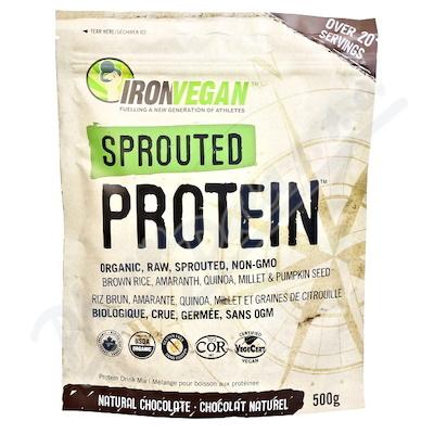 IRONVEGAN Protein směs čokoláda 500g