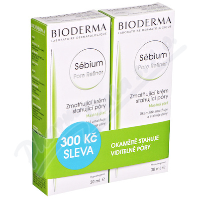 BIODERMA Sébium Pore Refiner 30 ml 1+1