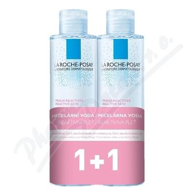 LA ROCHE-POSAY Micellar sensit.voda PROMO 2x200 ml