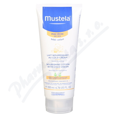Mustela Vyživující tělové mléko 200ml