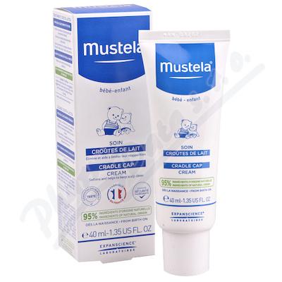 Mustela Krém proti tvorbě mléčných vlas.krust 40ml