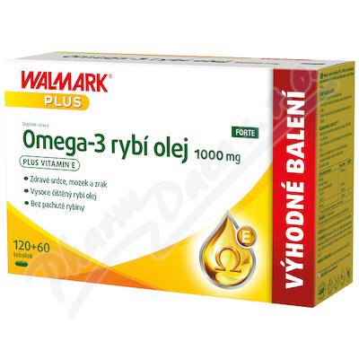 Walmark Omega-3 rybí olej 1000mg tob.180