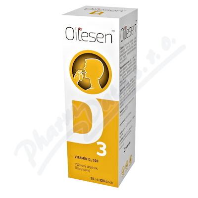 Oilesen Vitamin D3 500 ústní sprej 30ml