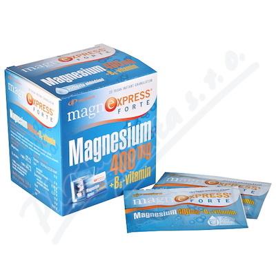 Magnesium Hořčík rozpustný 400mg + vit.B6 20x5.7g