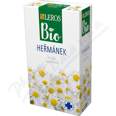 LEROS BIO Heřmánek květ 50g
