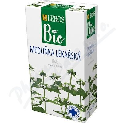 LEROS BIO Meduňka lékařská list 50g