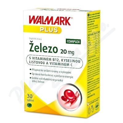 Walmark Železo 20mg tbl.30