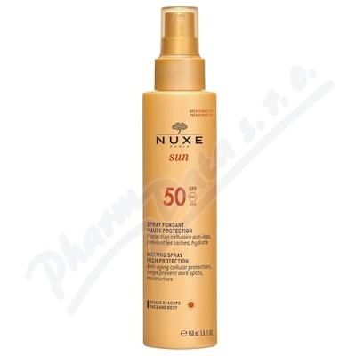 NUXE SUN Delikátní mléko SPF50 150 ml