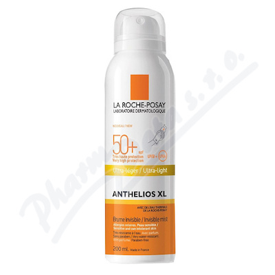 LA ROCHE-POSAY ANTHEL. BRUM Body mist SPF50+ 200ml