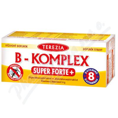 TEREZIA B-komplex Super Forte+ tbl.20